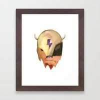 Cosmic Buffalo Framed Art Print