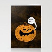 Pumpkin Season Stationery Cards