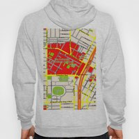 Map design of the University of southern California, LA Hoody