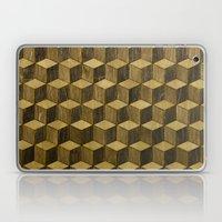 Optical wood cubes Laptop & iPad Skin