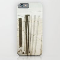 iPhone & iPod Case featuring Ocean Fence by Bella Blue Photography