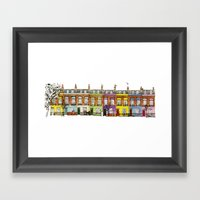 Hartland Road 1-15/Camde… Framed Art Print