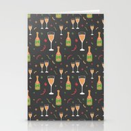 Champagne Party Stationery Cards