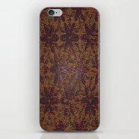 Rusty Flowers iPhone & iPod Skin