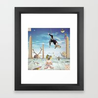 Gunas Framed Art Print