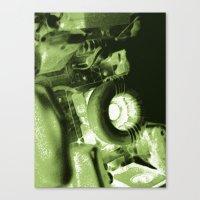 DIY movie projector Canvas Print
