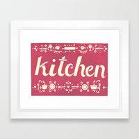 Kitchen Framed Art Print