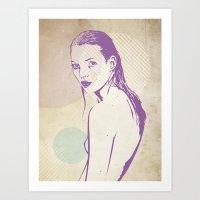 Moss Art Print