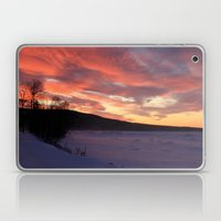 Wintry Sunset Over The P… Laptop & iPad Skin