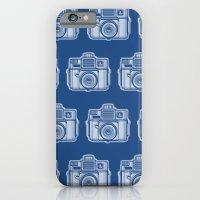 I Still Shoot Film Holga Logo - Reversed Blue iPhone 6 Slim Case