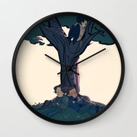 Lay Your Weary Head to Rest Wall Clock