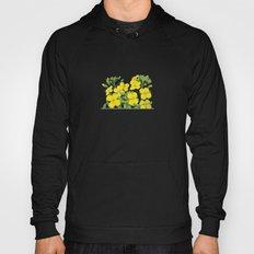 Summer flower in yellow Hoody