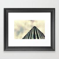 Beneath The St. Louis Sk… Framed Art Print