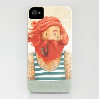 iPhone Cases featuring Octopus by Seaside Spirit