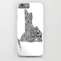 iPhone & iPod Case featuring Typographic New York by CAPow!