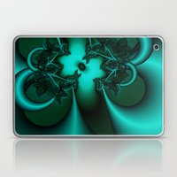 Teal Fantasy Laptop & iPad Skin