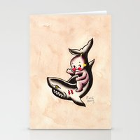 Kewpie on a Shark Stationery Cards