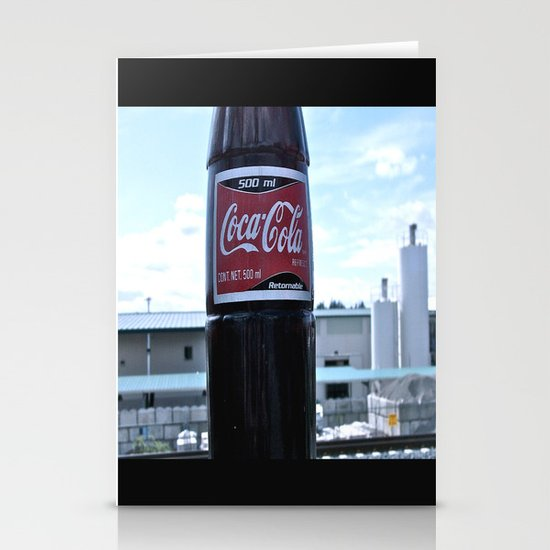 Industrial Coke Stationery Card