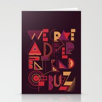 A Different Buzz Stationery Cards
