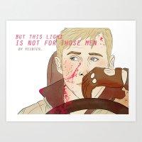 Those Men... Art Print