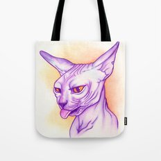 Sphynx cat #02 Tote Bag