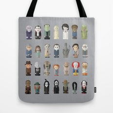Horror Icons Tote Bag