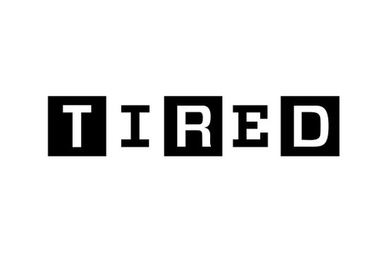 Tired Magazine Art Print