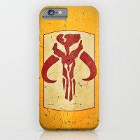 iPhone Cases featuring BOBA FETT - Mandalorian! by John Medbury (LAZY J Studios)