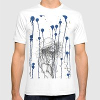 Rain Walker Mens Fitted Tee White SMALL
