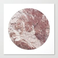 Planetary Bodies - Red Rock Canvas Print