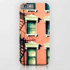Orange Houses, New York iPhone 6 Slim Case
