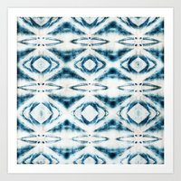 BOHEMIAN BLUES Art Print