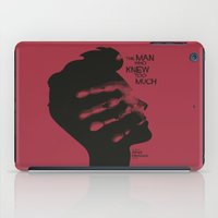 The Man who Knew Too Much - Alfred Hitchcock Movie Poster Minimal iPad Case