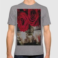 Roses  Mens Fitted Tee Athletic Grey SMALL