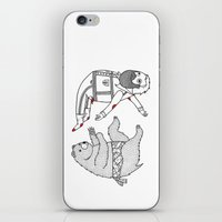 On The Bear's Uncontroll… iPhone & iPod Skin