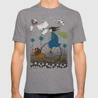 I Follow The Wind Mens Fitted Tee Tri-Grey SMALL