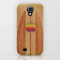 Galaxy S4 Cases featuring Surfboard by Laure.B
