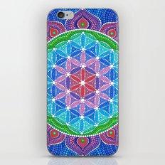 Lotus Flower of Life iPhone & iPod Skin