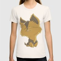 Terrier Womens Fitted Tee Natural SMALL