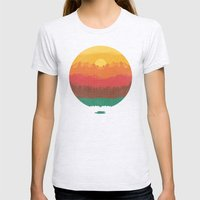 Layers Of Nature Womens Fitted Tee Ash Grey SMALL