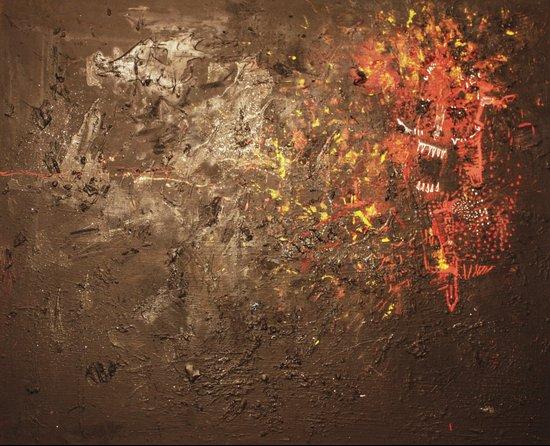 Devil Inside of Me Art Print