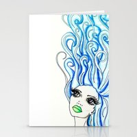 Lady of the Sea Stationery Cards