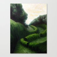 Canvas Print featuring Path by Clearance21 7
