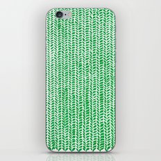 Stockinette Green iPhone & iPod Skin