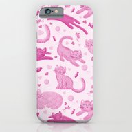 Pink Playful Kittens iPhone 6 Slim Case