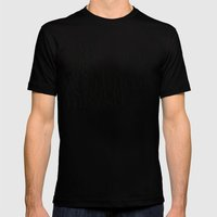 LETS MAKE OUT! Mens Fitted Tee Black SMALL