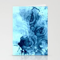 roses Stationery Cards featuring roses underwater by clemm