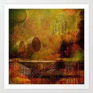 Urban Landscape  2 Art Print
