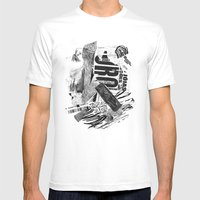 ouro Mens Fitted Tee White SMALL