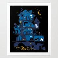 Wizard's Castle Art Print